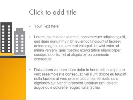 Constructing Theme PowerPoint Template, Slide 3, 13982, Construction — PoweredTemplate.com