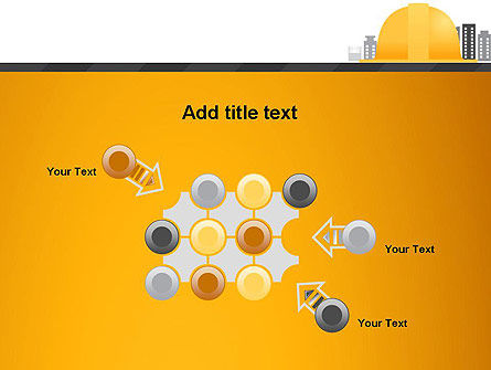 Constructing Theme PowerPoint Template Slide 10