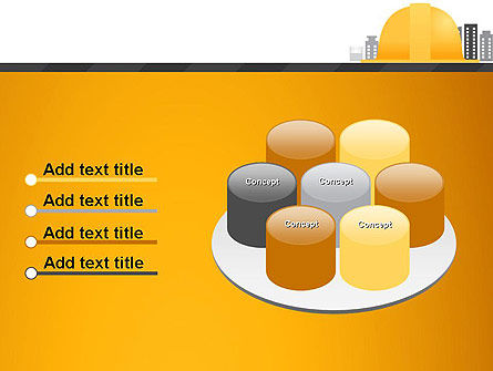 Constructing Theme PowerPoint Template Slide 12