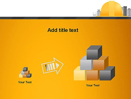 Constructing Theme PowerPoint Template Slide 13