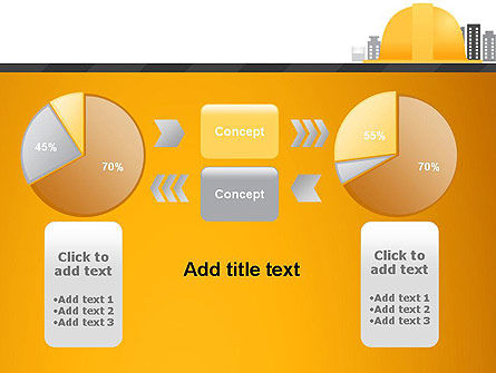 Constructing Theme PowerPoint Template Slide 16