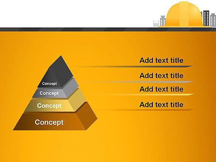 Constructing Theme PowerPoint Template, Slide 4, 13982, Construction — PoweredTemplate.com