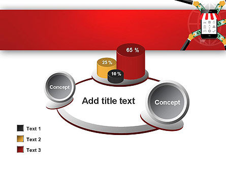 Online Mobile Purchases PowerPoint Template Slide 16