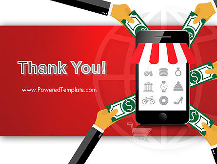 Online Mobile Purchases PowerPoint Template Slide 20