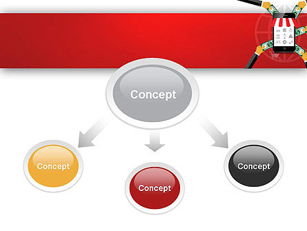 Online Mobile Purchases PowerPoint Template Slide 4