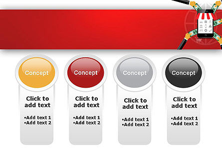 Online Mobile Purchases PowerPoint Template Slide 5