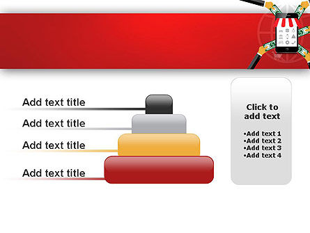 Online Mobile Purchases PowerPoint Template Slide 8