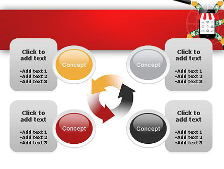 Online Mobile Purchases PowerPoint Template Slide 9