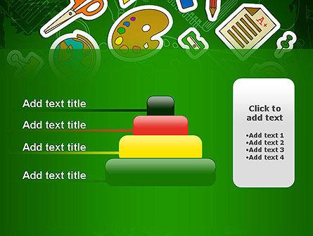 Educational Stuff PowerPoint Template Slide 8