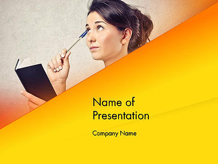 Education & Training: Memorizing PowerPoint Template #13985