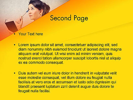 Memorizing PowerPoint Template, Slide 2, 13985, Education & Training — PoweredTemplate.com