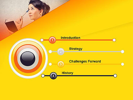 Memorizing PowerPoint Template, Slide 3, 13985, Education & Training — PoweredTemplate.com