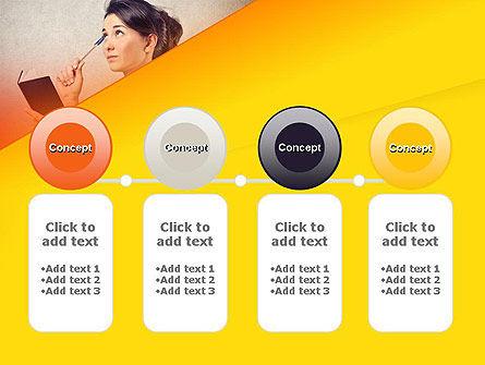 Memorizing PowerPoint Template Slide 5