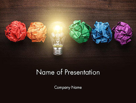 Creative Services PowerPoint Template