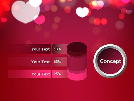 Love Pink PowerPoint Template Slide 11