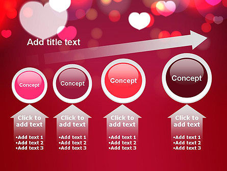 Love Pink PowerPoint Template Slide 13