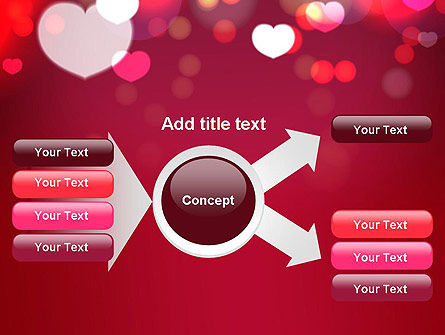 Love Pink PowerPoint Template Slide 14