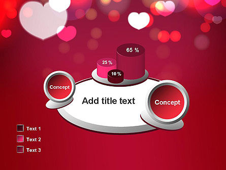 Love Pink PowerPoint Template Slide 16