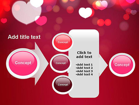Love Pink PowerPoint Template Slide 17