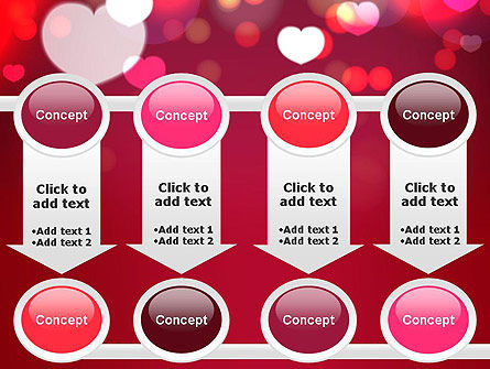 Love Pink PowerPoint Template Slide 18