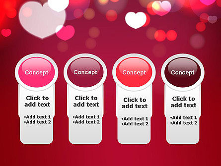Love Pink PowerPoint Template Slide 5