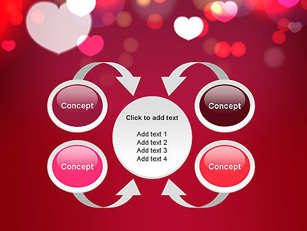 Love Pink PowerPoint Template Slide 6