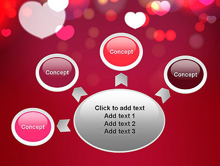 Love Pink PowerPoint Template Slide 7
