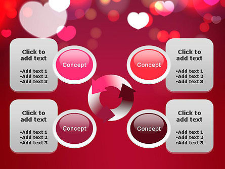Love Pink PowerPoint Template Slide 9