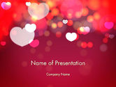 Holiday/Special Occasion: Love Pink PowerPoint Template #13989