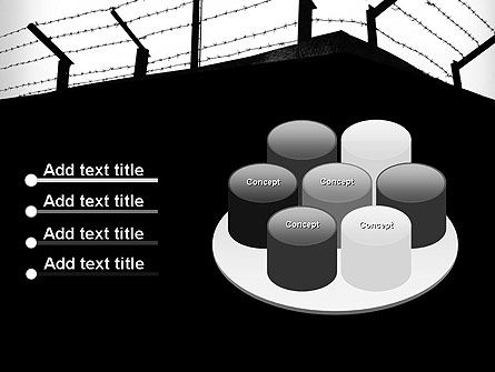 Barbed Wire Fence PowerPoint Template Slide 12