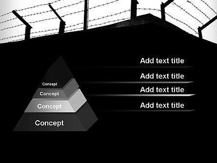 Barbed Wire Fence PowerPoint Template Slide 4