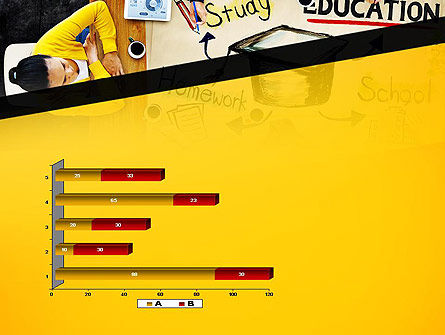 Studying Homework PowerPoint Template Slide 11
