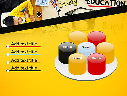 Studying Homework PowerPoint Template Slide 12