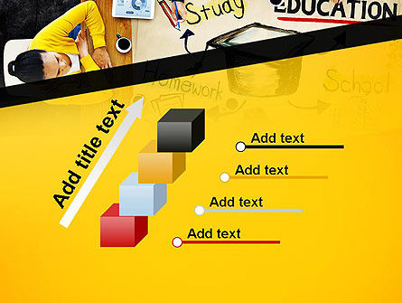 Studying Homework PowerPoint Template Slide 14