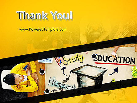 Studying Homework PowerPoint Template Slide 20