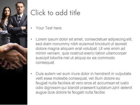 Art of Sales PowerPoint Template, Slide 3, 13995, Consulting — PoweredTemplate.com