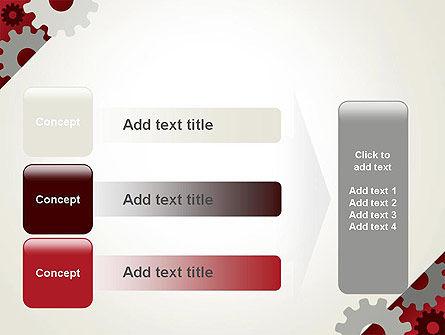 Cogwheels Gear Illustration PowerPoint Template Slide 12