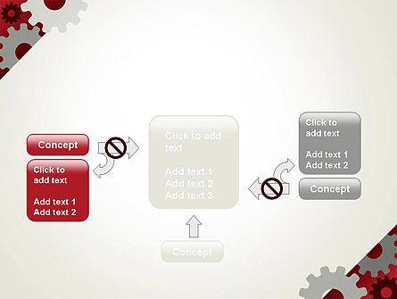 Cogwheels Gear Illustration PowerPoint Template Slide 13