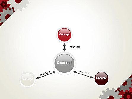 Cogwheels Gear Illustration PowerPoint Template Slide 14