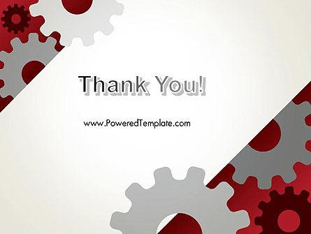 Cogwheels Gear Illustration PowerPoint Template Slide 20