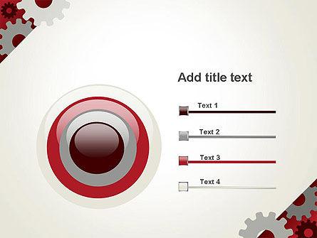 Cogwheels Gear Illustration PowerPoint Template Slide 9