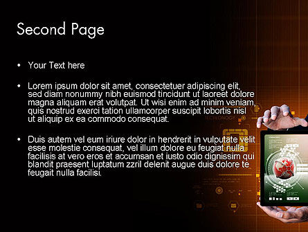 Futuristic Technology PowerPoint Template, Slide 2, 13997, Technology and Science — PoweredTemplate.com
