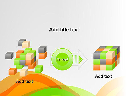 Green and Orange Curves PowerPoint Template Slide 17