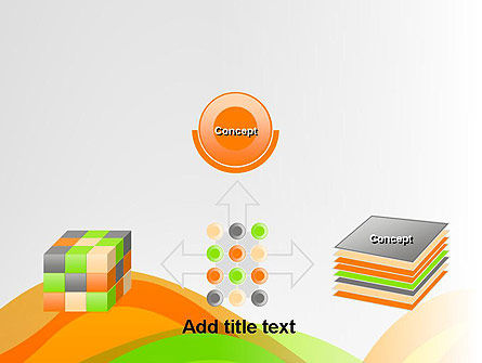 Green and Orange Curves PowerPoint Template Slide 19