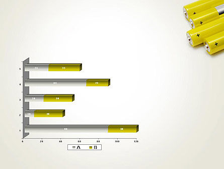 Yellow Batteries PowerPoint Template Slide 11