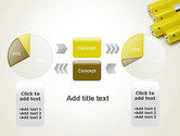 Yellow Batteries PowerPoint Template#16