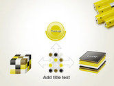 Yellow Batteries PowerPoint Template#19