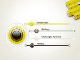 Yellow Batteries PowerPoint Template#3