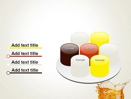 Splash Cocktail PowerPoint Template Slide 12