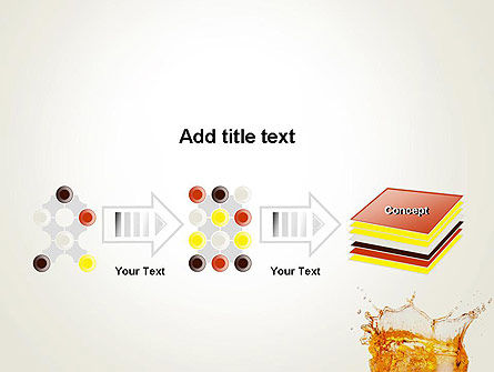 Splash Cocktail PowerPoint Template Slide 9